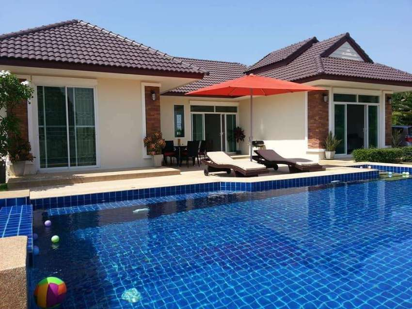Charming pool villa for rent