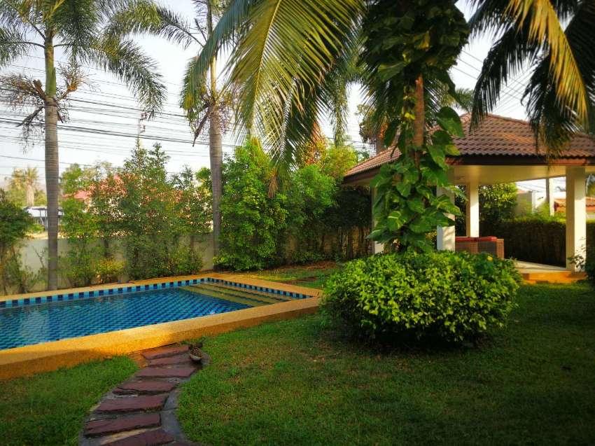 Lovely corner plot pool villa for rent