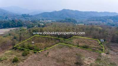 (LS197-06) Land for sale with stunning views of mountain in Samoeng Nu