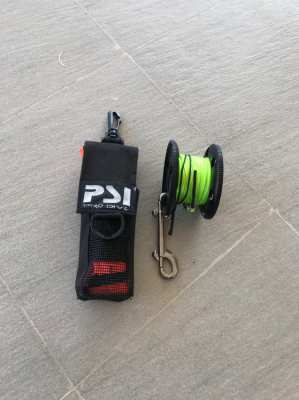 Scuba diving PSI SMB with Reel