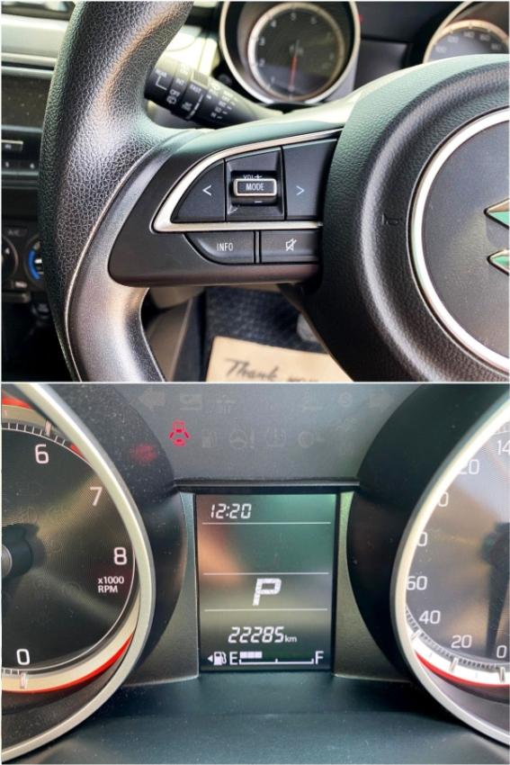 Suzuki Swift 1.25 GL มือเดียว โฉมล่าสุด มีประกันศูนย์เหลือ