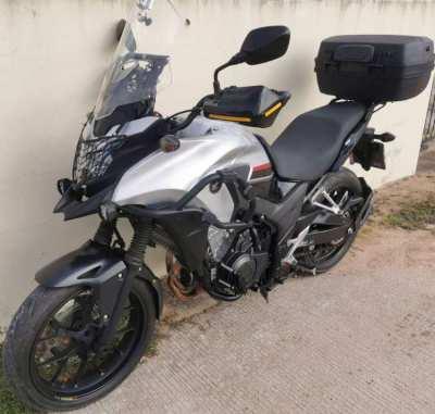 06/2018 Honda CB500X 119.900 ฿ Finance by shop