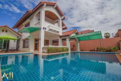 Pool villa for rent_@ Jomtien Beach road