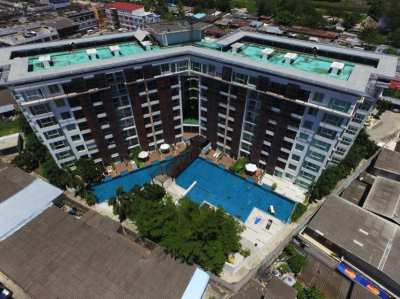 Two side by side studio condos for sale in Hua Hin town centre