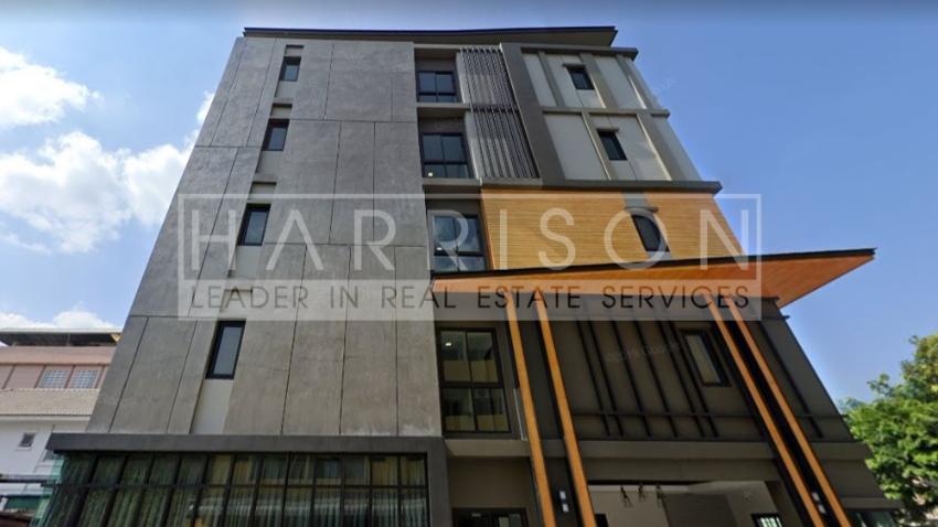 ผลตอบแทนดีมาก อพาร์ทเม้นท์ย่านรัชดา เนื้อที่ 184 ตรว. อาคาร 5 ชั้น จำน
