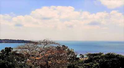 For sale sea view land in Lamai Koh Samui