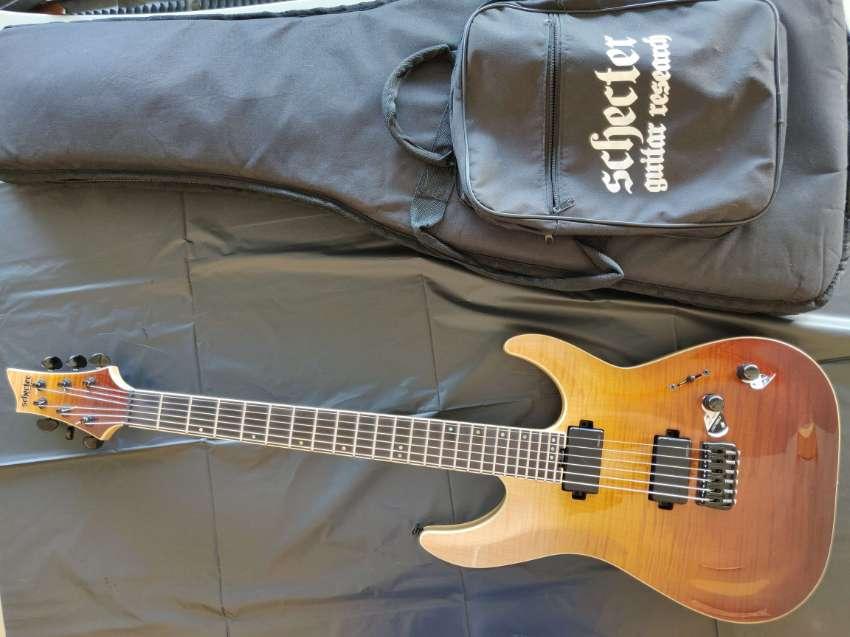 Schecter Electric Guitar - pristine condition
