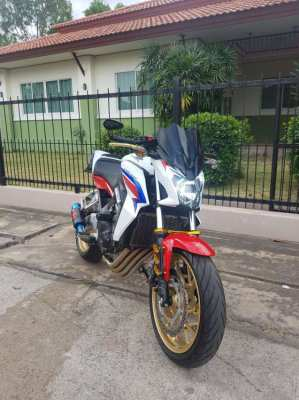 2016 Honda CB650F 15,000km