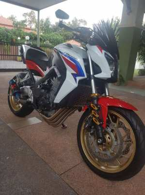 2016 Honda CB650F 18,000km