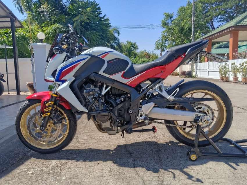 2016 Honda CB650F 19,000km