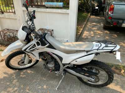 Honda CRF250L 2012 well-maintained