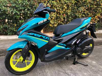 2019 Aerox 155-R Mint Condition!