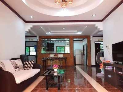3 bedroom house close to Narai rd. and Mae Ramphueng beach in Rayong