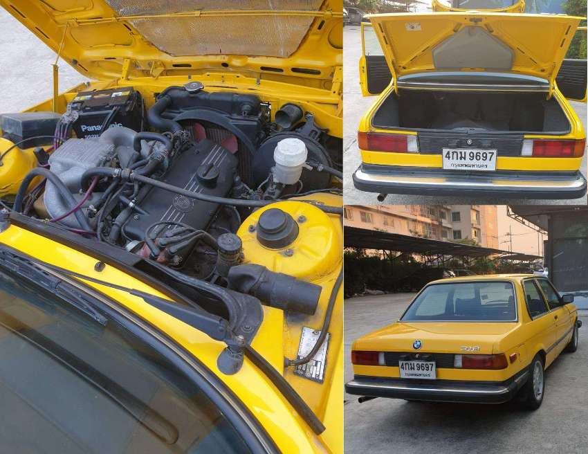 Classic Car BMW E21 from 1982 for sale