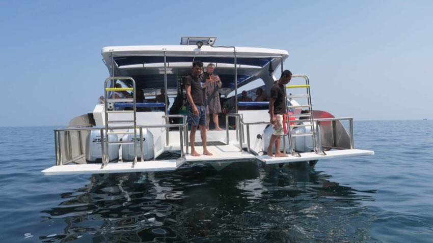 REDUCED!!! Highe speed Dive Catamaran