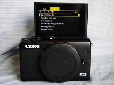 Canon EOS M100 Mirrorless (Wi-Fi, NFC, BT) Camera Black Body