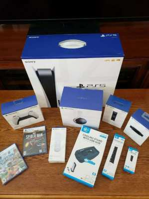 Sony PS5 + Accessories + Games