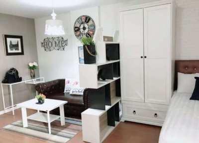 LPN Bodin Ramkamhang TowerA1 FL2 nice decor fully furnished near 7-11