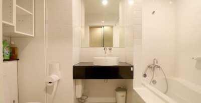 1 bedroom condo for rent near Sathorn Silom next to BTS KrungThonburi