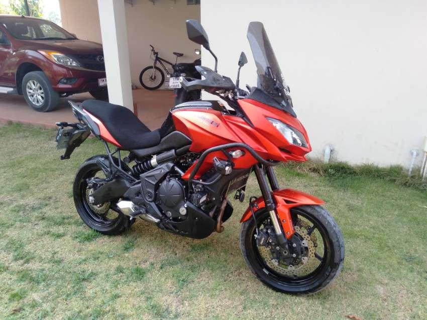 2015 Kawasaki Versys 650.  170,000 baht