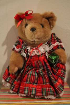 Bearly People Xmas Candy Kid - Victoria Lace 30 cm