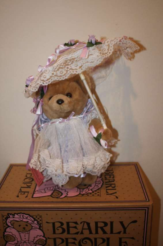Bearly People TL 12 - Tiffany Lace - purple color - 30 cm