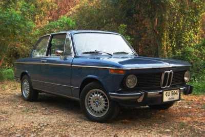 BMW 2002 Tii Fantastic Restoration