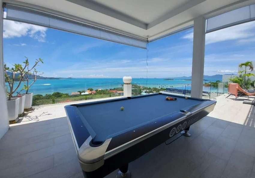 Modern look pool table 8ft