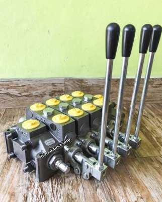 Electric hand control (COMPLETE VALVE) Hydrocontrol model HC-D