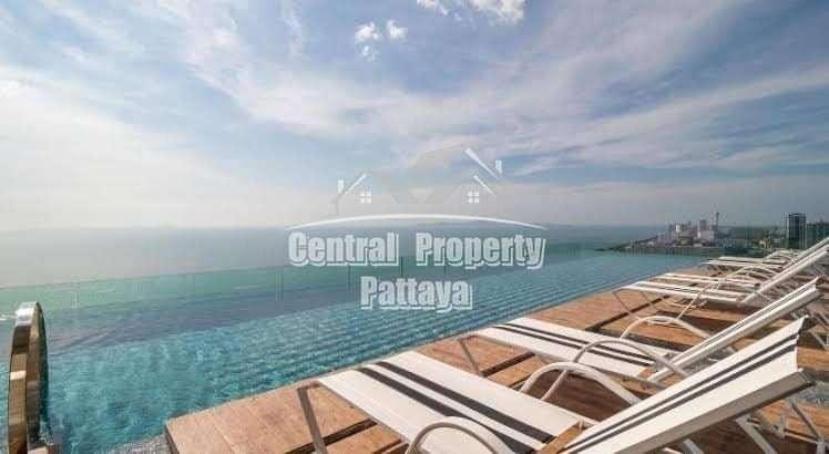 Amazing Riviera Jomtien, beautiful 35 sqm with Seaview