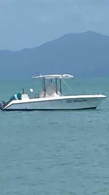 Boat 200cv style Boston whaler