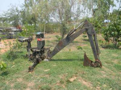 Backhoe Attachment PTO Tractor