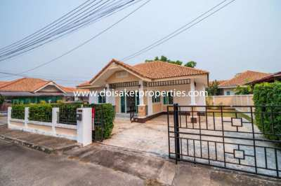 (HS214-03) Newly-Renovated Single Story Home for Sale in San Kamphaeng