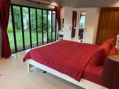 Jomtien Pool Villa for sale with rental contract