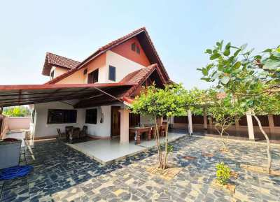 Furnished house for rent 4 bedrooms on the canal road near PTT Station
