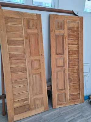 Double Doors OLD TEAK