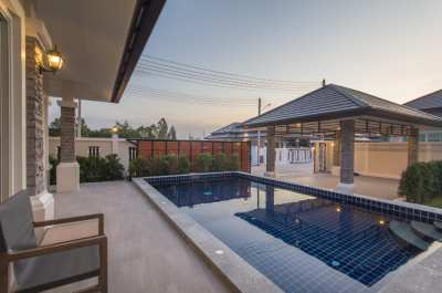 Pool villa in Hua Hin 3 beds 3 baths fully furnished ready to move in
