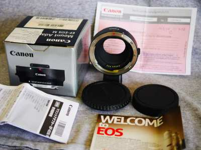 Canon EF-EOS M Electronic Auto Focus Lens Adapter in Box