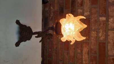 Old bronze lichts