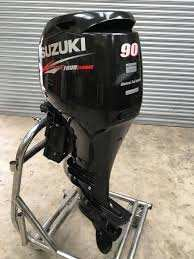 USED Suzuki 90HP Four Stroke outboard Motor Engine ( ฿36,882 )THB