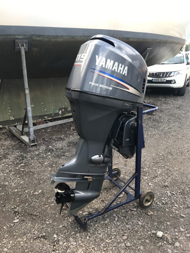 USED Yamaha 115HP Four Stroke outboard Motor Engine ( ฿46,131)