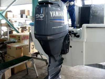 USED Yamaha 90HP Four Stroke outboard Motor Engine ( ฿33,828)