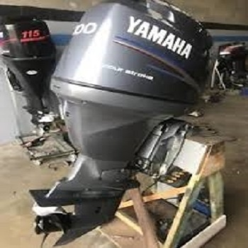 USED Yamaha 100HP Four Stroke outboard Motor Engine ( ฿43,030)