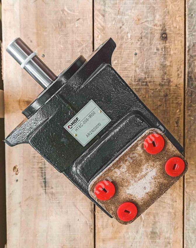 Hydraulic vane pump, HOF brand, model HT6C.