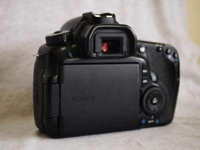 Canon EOS 60D DSLR camera black Body in Box