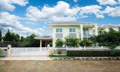 House for rent 3.5 km. from Chiang Mai Universtiy, Canal Rd. (ChonPrat