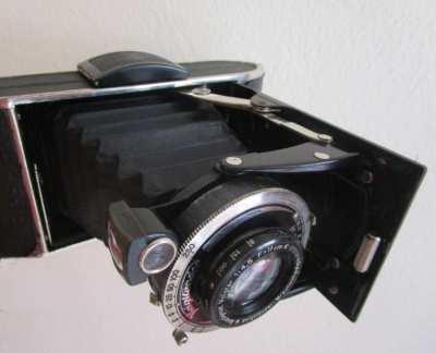 Voigtländer Bessa I, folding camera Anastigmat Voigtar,1: 4.5 F = 11cm