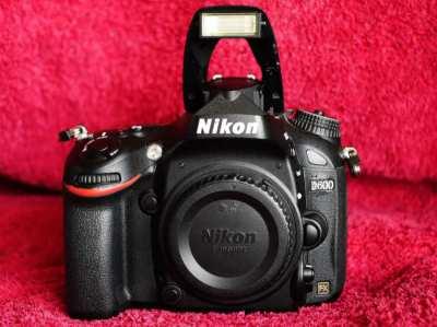 Nikon D600 24.3MP Digital SLR Camera - Black Body