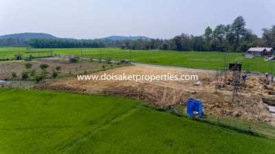 (LS334-00) Nice Plot of Land with Beautiful Views for Sale in Doi Sake