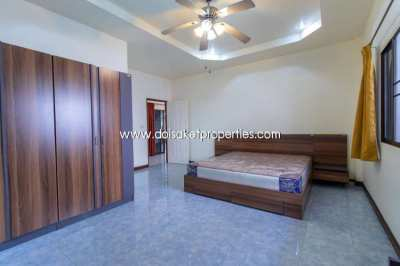 (HR149-03) 3-Bedroom House for Rent in Gated Community in Doi Saket